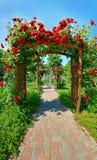 Magischer Garten lizenzfreie stockfotografie