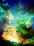 Magischer Himmel lizenzfreie stockfotos