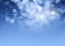 Magischer Hintergrund des Sternstaubes Stockfoto