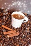Magischer Kaffee Lizenzfreies Stockbild