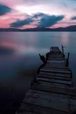Magischer Moment - leise Brücke stockbilder