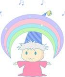 Magischer Regenbogen Stockfoto