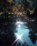 Magischer See Lizenzfreie Stockfotografie