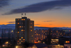 Magischer Sonnenuntergang Lizenzfreies Stockfoto