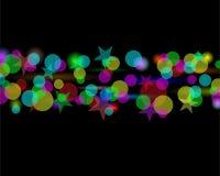 Magischer Sternauszugshintergrund Stockfotografie