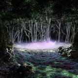 Magischer Teich stock abbildung