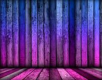 Magischer violetter Raum-Hintergrund Lizenzfreie Stockfotos