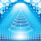Magischer Weihnachtsbaum Stockfotografie