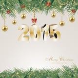Magischer Weihnachtshintergrund Lizenzfreie Stockfotos