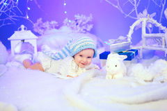 Magischer Winter Stockfotografie