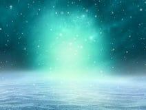 Magischer Winter-Hintergrund Stockbild