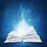 Magisches Buch Stockbild