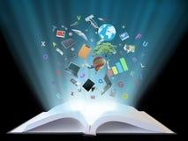 Magisches Buch Lizenzfreie Stockfotografie