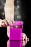 Magisches Geschenk lizenzfreies stockfoto