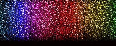 Magisk bakgrund för abstrakt begrepp för mjukt ljus för jul Arkivfoto
