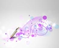 Magisk blyertspenna Arkivfoto
