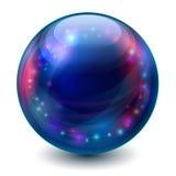 Magisk boll stock illustrationer