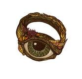 magisk cirkel Royaltyfri Illustrationer