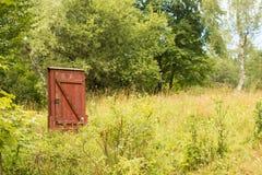 Magisk dörr i skog Arkivfoto