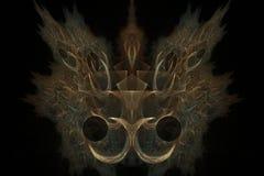 magisk form Arkivfoto