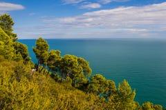 Magisk höst i Apulia, Italia fotografering för bildbyråer