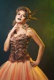 Magisk Harpy halloween Royaltyfria Foton