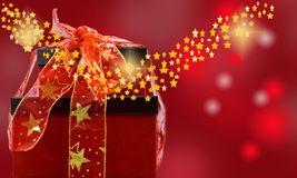 magisk jul Fotografering för Bildbyråer