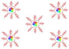 Magisk karusell var kan formgivare varje f?r objektoriginal f?r evgeniy diagram sj?lvst?ndig kotelevskiy vektor Forntida bokst?ve stock illustrationer