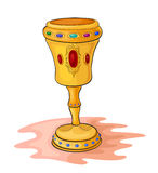 Magisk kopp Fotografering för Bildbyråer