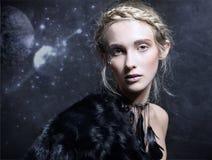 Magisk kvinna Arkivfoto
