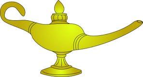 Magisk lampa Royaltyfri Fotografi