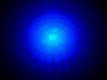 Magisk lighting på rund stenbyggnad, vetenskap, Royaltyfri Bild