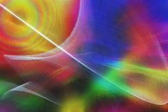 Magisk ljus färgrik beröm stock illustrationer