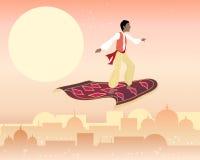 Magisk matta stock illustrationer