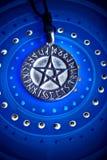 magisk pentagram Royaltyfri Foto