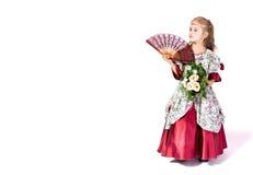 magisk princess royaltyfri fotografi
