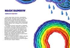 magisk regnbåge Royaltyfria Foton