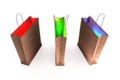 magisk shopping Arkivbild