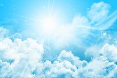 magisk sky Royaltyfria Bilder