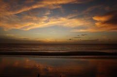 magisk solnedgång Arkivfoton