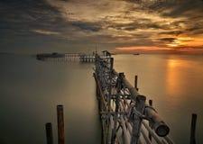 Magisk soluppgång Fotografering för Bildbyråer
