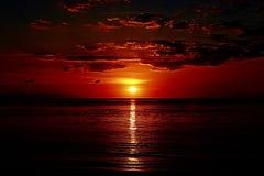 Magisk soluppgång Arkivbilder