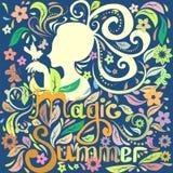 Magisk sommar Fotografering för Bildbyråer