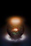 magisk sphere Royaltyfria Bilder