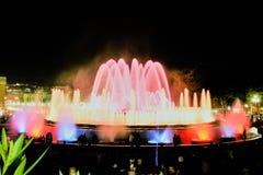 Magisk springbrunn Royaltyfri Bild