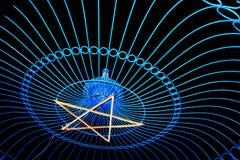 Magisk stålstjärna Arkivbilder