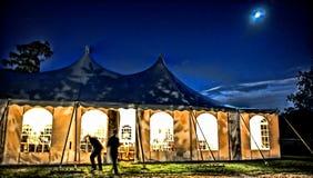 magisk tent Royaltyfri Bild