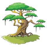 magisk tree stock illustrationer