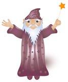 magisk trollkarl Arkivbilder