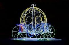 Magisk vagn för Cinderella Royaltyfri Fotografi